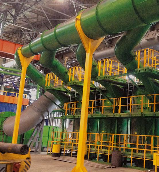 """Промышленное строительство - один из видов деятельности компании """"ПГС"""""""