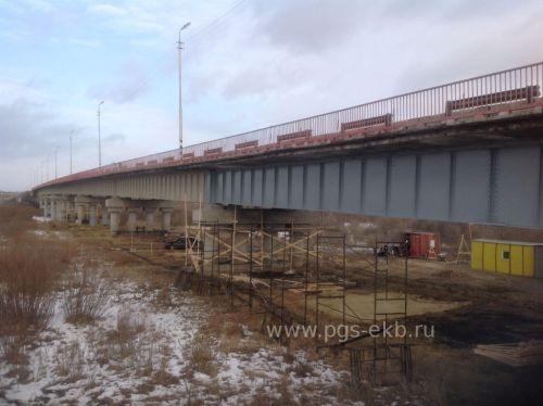 Строительство мостов - Капитальный ремонт моста через реку Исеть