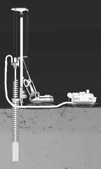 Заливка бетона методом инъекции